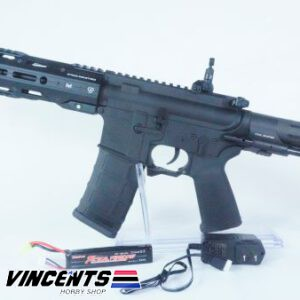E&C 337 Black AEG Rifle