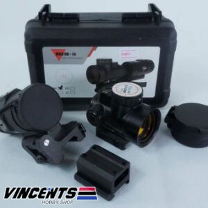 MRO Red Dot With Magnifier Black
