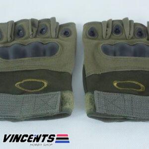 Oakley Half Gloves Medium Green